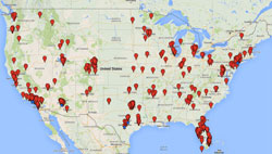 Stem Cell Clinics Map